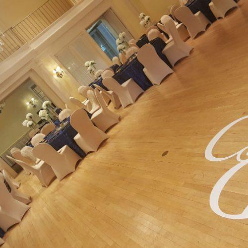 Hanousek dance floor gobo