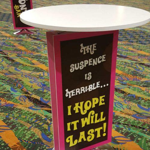 Treasure Island Suspense table 1000