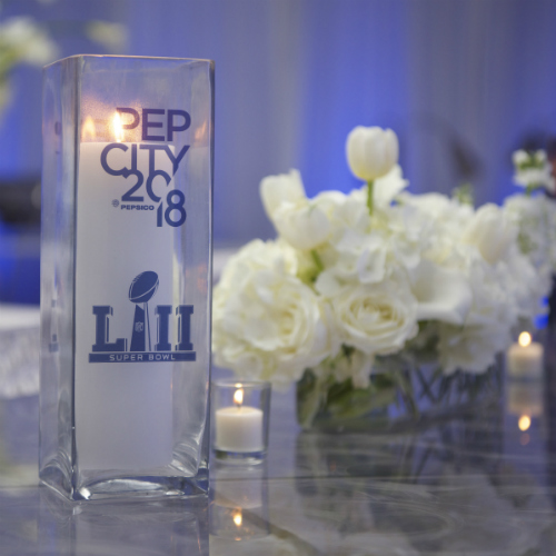 Events Forum Pepsi Ice candle flowers 500 x 500