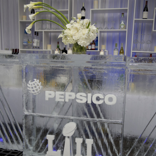 Events Forum Pepsi Ice ice bar floral 500 x 500