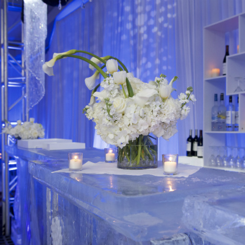 Events Forum Pepsi Ice ice bar small floral 500 x 500