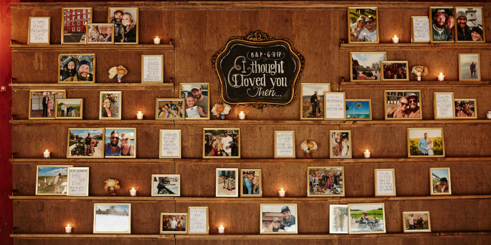 Daniel Wedding Photo Wall 1000 x 500