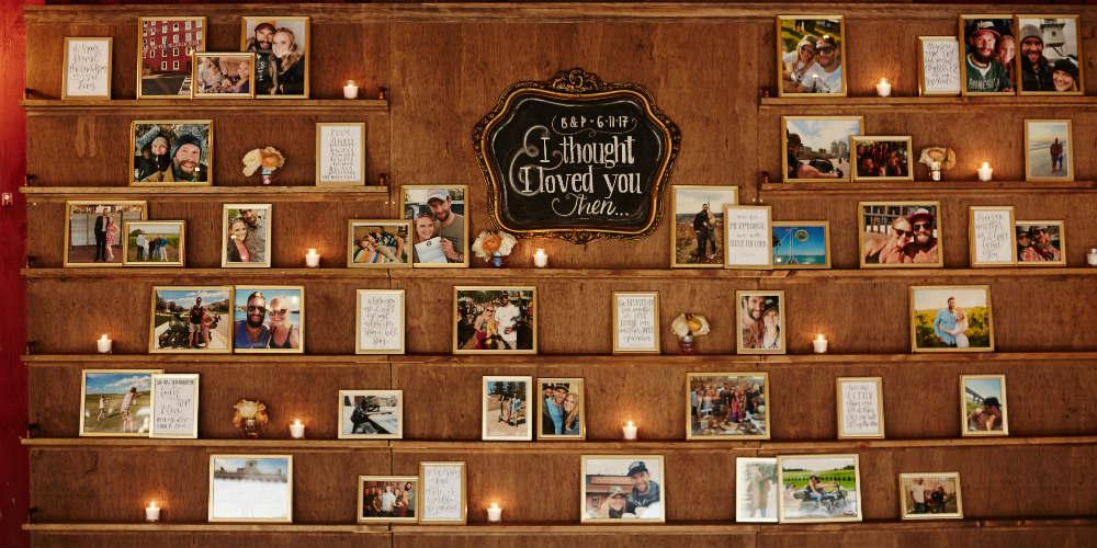 Daniel Wedding Photo Wall 1000 x 500