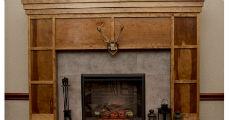 Wood Fireplace 230 x 120