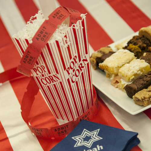 Weisberg Rutman Mitzvah Popcorn napkin 500 x 500