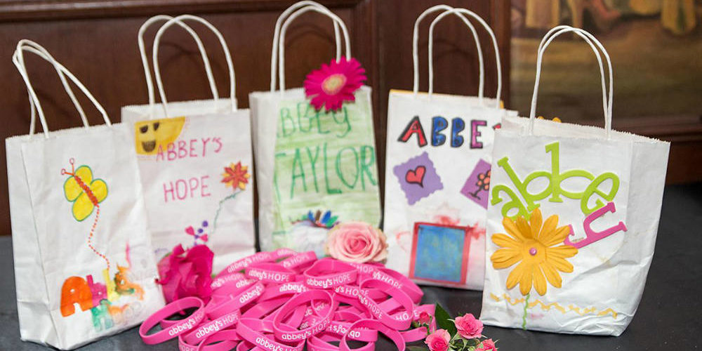 Abbey's Hope bags and bands 1000