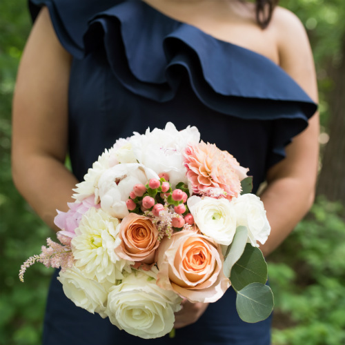 Boh Ford Bridesmaid bouquet 2