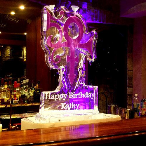 Ice Sculpture design for Birthday
