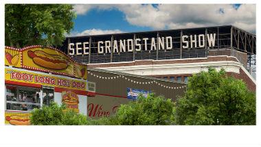 MN Grandstand Sign