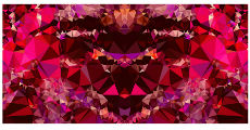 Kaleidoscope pattern small