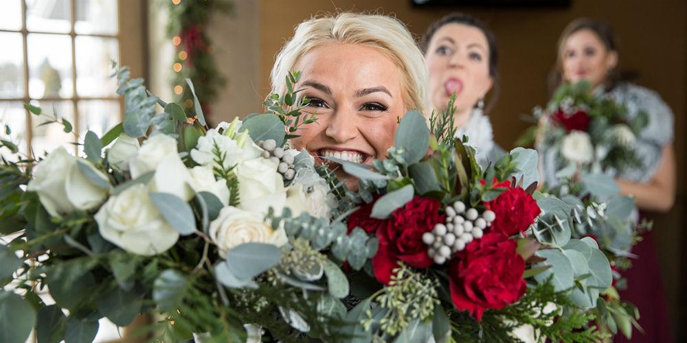 Allie Chris Palmer Wedding bouquets