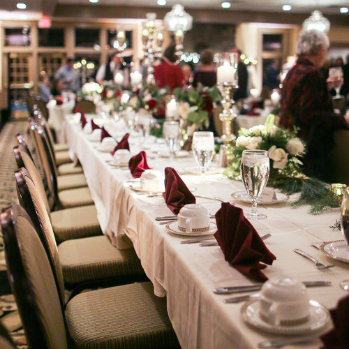 Allie Chris Palmer Wedding table setting