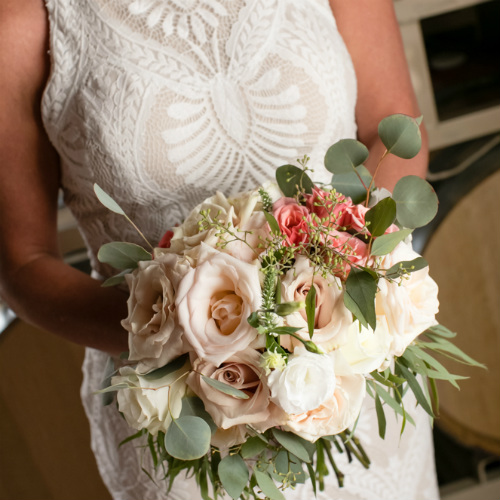Barn Wedding bride 3/4