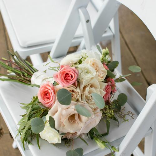 Barn Wedding Flowers