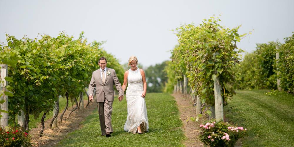 Barn Wedding vineyard