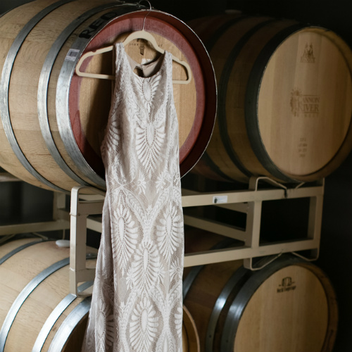 Barn Wedding Dress