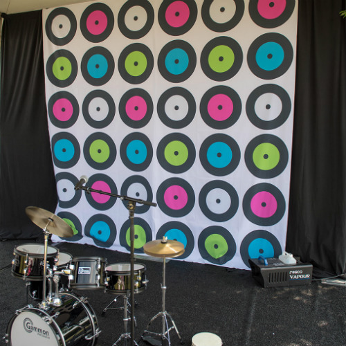 Drum Set Backdrop
