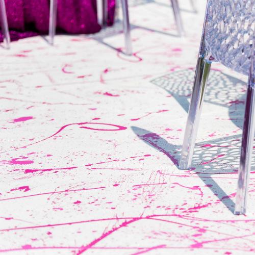 splatter floor