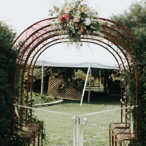 Alex and Anna Barrick Arch Entrance