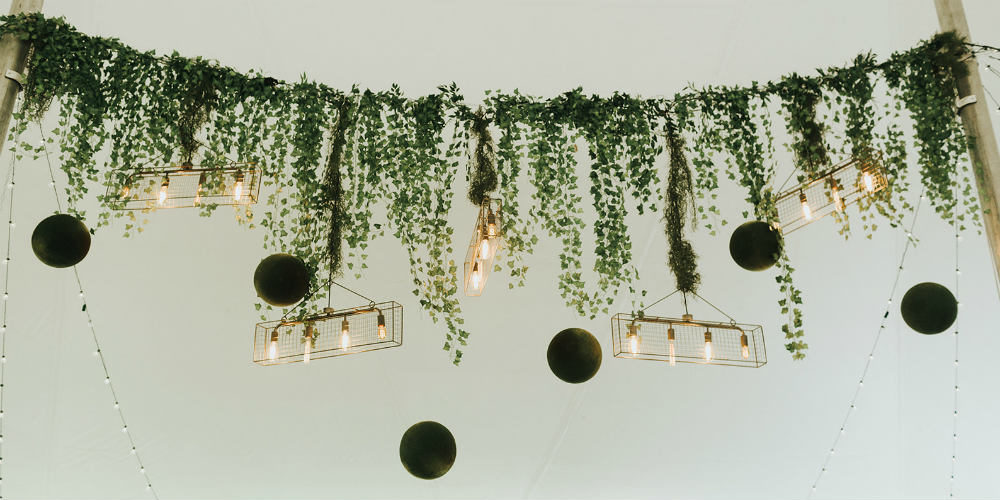 Alex and Anna Barrick Greenery Garland