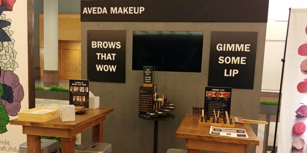 Aveda Congress Brows Station