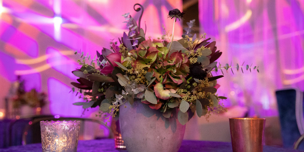 BATC Flowers and Votive Candles