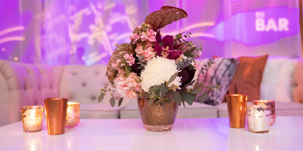 BATC Flowers in Lounge