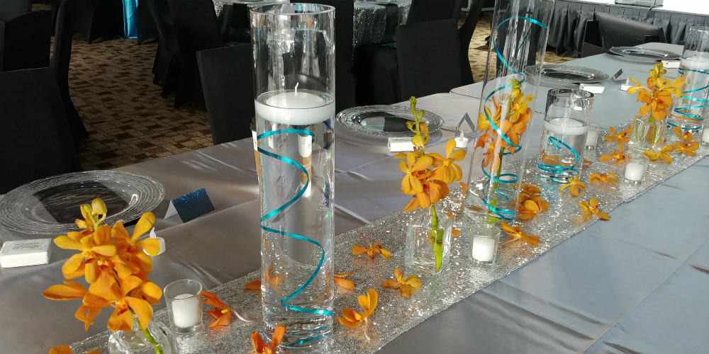 Be The Match - Long Table Flowers