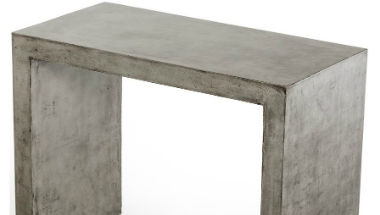 Concrete Bar Table - Party Rentals