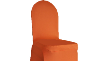 Orange Chair Cover