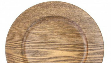 Wood Grain Charger