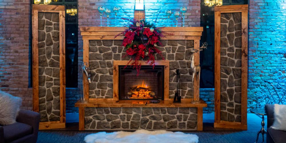 Mosaic Holiday 2018 Fireplace