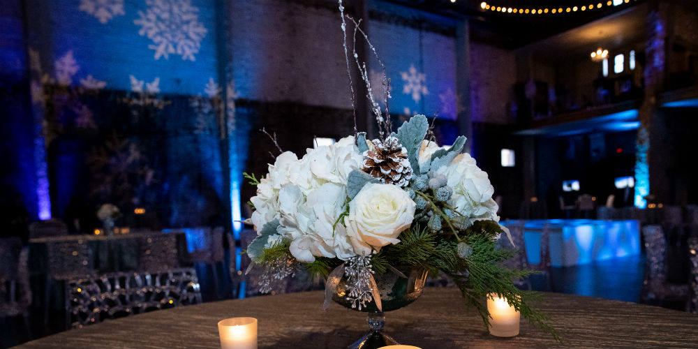 SLW 2018 Flowers with blue lighting