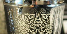 Silver Scroll votive