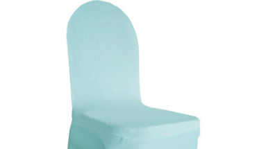 Baby Blue Chair Cover