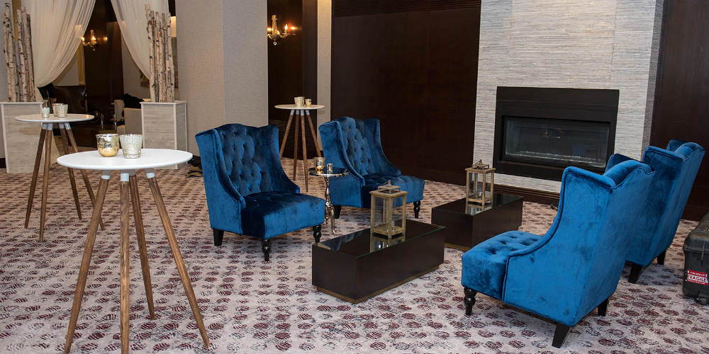 Capital One 2019 Blue Chairs